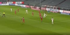 Video: eerste goal Kluivert voor Leipzig in topper
