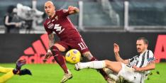 Juventus in stadsderby maar net langs Torino