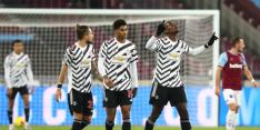 Manchester United herstelt zich na rust bij West Ham