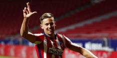Ongeslagen koploper Atletico wint ook van Valladolid