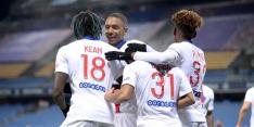 Geen nieuw puntverlies voor PSG dankzij Kean en Mbappé