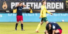 Boze Willem II-supporters halen verhaal na nederlaag in Sittard