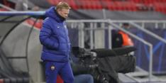 Koeman beschermt 'rode' Messi en baalt flink van verlies