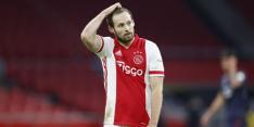 Ajax mist Blind, Tagliafico terug in de basis tegen Groningen
