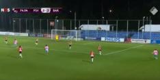 Video: Martens scoort heerlijke goal namens Barça tegen PSV