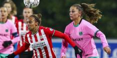 Vrouwen PSV kunnen niet stunten in CL-debuut tegen Barcelona