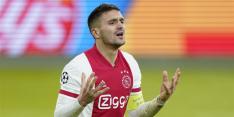 Ajax bijt zich stuk op sterker Atalanta en is uitgeschakeld in CL