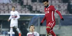 Midtjylland pakt punt tegen Liverpool in slotwedstrijd