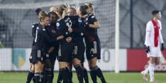Ook Ajax Vrouwen lijden nederlaag met weinig perspectief