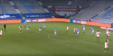 Video: Sontje Hansen laat keeper kansloos met fraaie uithaal