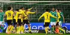 Dortmund herstelt zich en wint eerste duel zonder Favre