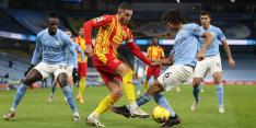 Man City speelt ondanks 75 procent balbezit gelijk tegen WBA