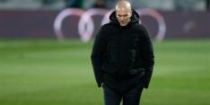 Zidane test positief op corona en mist Real-wedstrijden