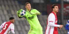 Scherpen debuteert voor Ajax in bekerduel tegen FC Utrecht