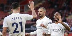 Manchester City in top vijf na zege op Southampton