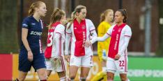 Ajax Vrouwen winterkampioen na krappe overwinning
