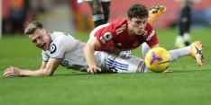 United maakt indruk en wint met tennisuitslag van Leeds