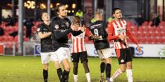 Almere City door late goal met goed gevoel feestdagen in