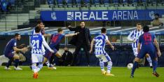 Atlético Madrid doet goede zaken met winst op Sociedad
