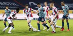 Plichtmatig Ajax winterkampioen door punt bij Willem II