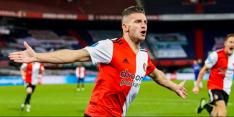 Linssen is eindelijk los en loodst Feyenoord naar de derde plek