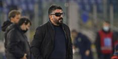 Gelukkige goals Napoli geven geplaagde Gattuso iets meer lucht