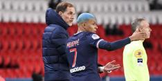 Mbappé neemt alvast afscheid van Tuchel: 'Bedankt, trainer'