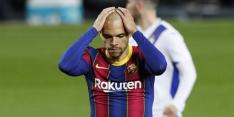 Weer een tik Koeman: Eibar snoept zwak Barça punten af