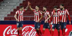 Atlético Madrid als koploper jaarwisseling in na zege