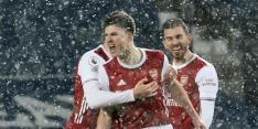 Arsenal sluit 'cruciale week' af met vierklapper tegen West Brom