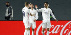 Real Madrid weer even koploper na zege op Celta Vigo