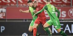 De Graafschap verliest zicht op top 2 na late Almere-goal