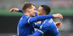 Leicester mag blijven dromen na benauwde zege