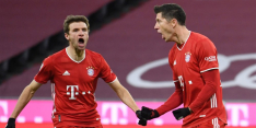 Bayern met Lewandowski-record én tegengoal naar zege