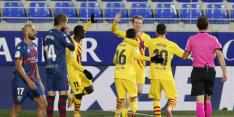 Frenkie de Jong matchwinner in belangrijke zege Barça