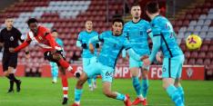 Liverpool toont kwetsbaarheid en verliest bij Southampton