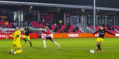 Go Ahead mist tien spelers, maar wint wel bij Jong PSV