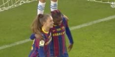 Video: Martens met achterwaartse kopbal belangrijk voor Barça