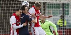 Jong Ajax en Helmond Sport blijven steken op remise