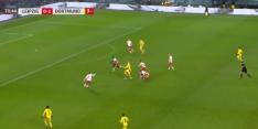 Video: Haaland kopt raak na fraaie aanval Borussia Dortmund