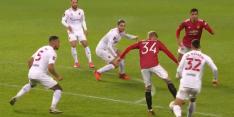 Video: heerlijk hakballetje Van de Beek op Old Trafford