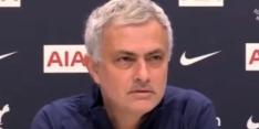 Video: Mourinho zet Özil op zijn plaats na sneer naar Spurs