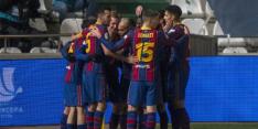 Barcelona finalist Supercopa na bizarre hoofdrol De Jong