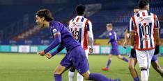 Willem II krijgt volgende tik in knotsgek duel met Groningen