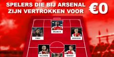 FC Transfervrij: deze spelers vertrokken ook gratis bij Arsenal