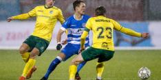 Fortuna zet fraaie reeks voort op bezoek bij PEC Zwolle