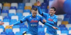 Napoli tankt met zesklapper vertrouwen richting Supercoppa