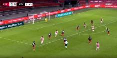 Video: Gravenberch schiet Ajax fraai op voorsprong