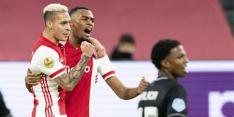 Krantenoverzicht: 'Met het nodige geluk pakte Ajax de drie punten'