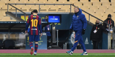 Schorsing Messi blijft staan, Barcelona weet bekertegenstander